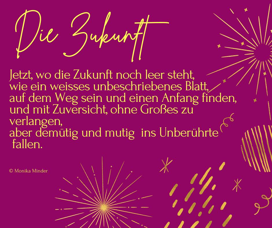 Text zum neuen Jahr