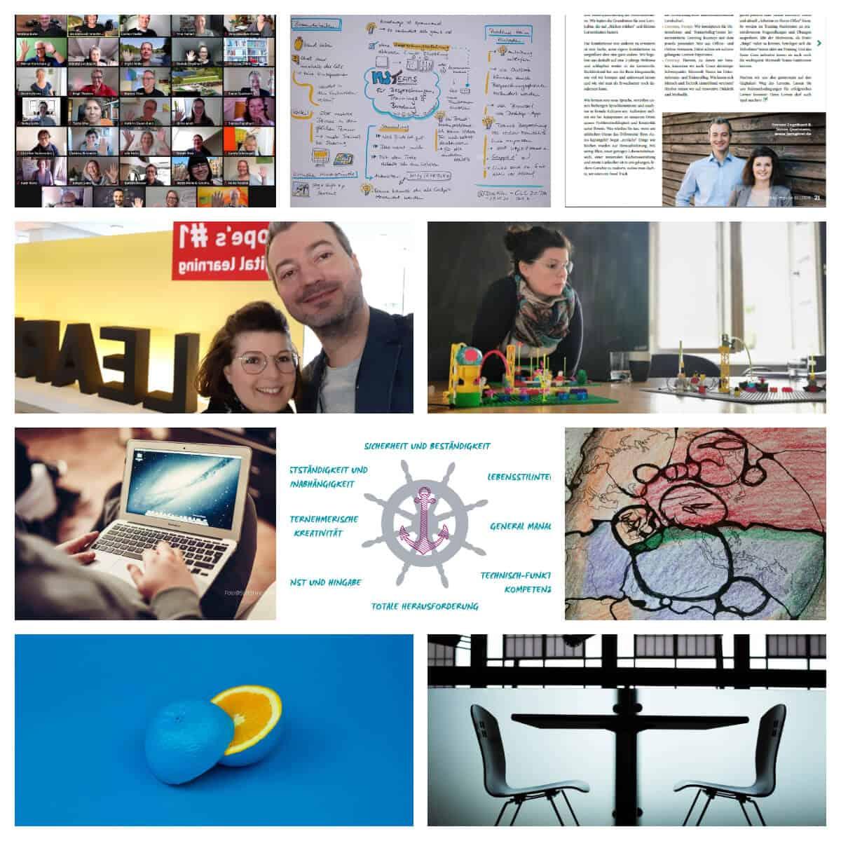 Collage für einen Blog