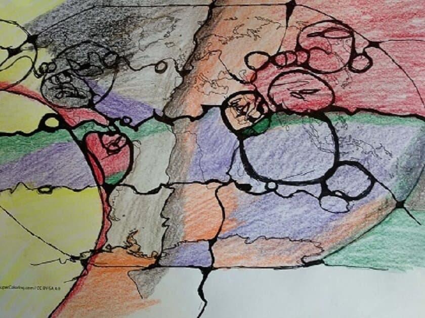 Neurographik Zeichnen für die Welt