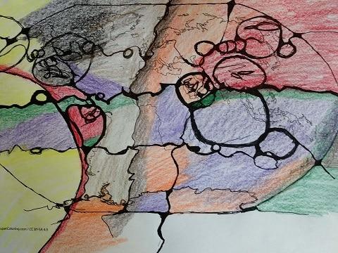 Neurografik Zeichnen für die Welt